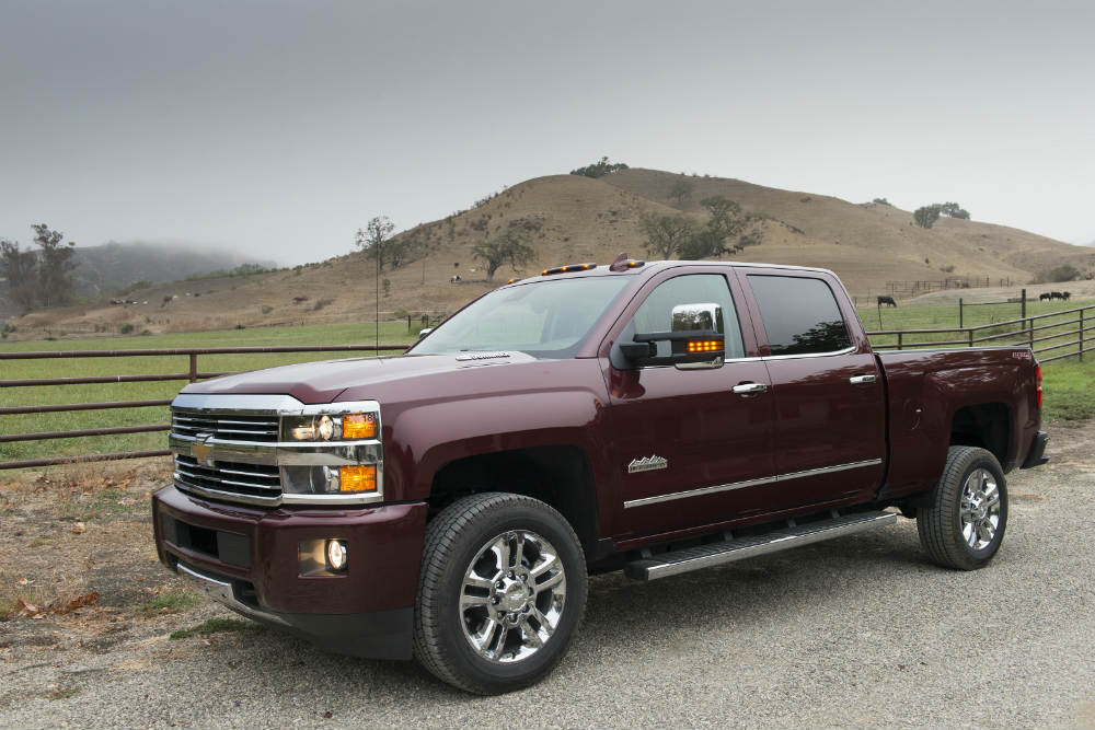 The 2016 Chevy Silverado 2500HD has serious towing power