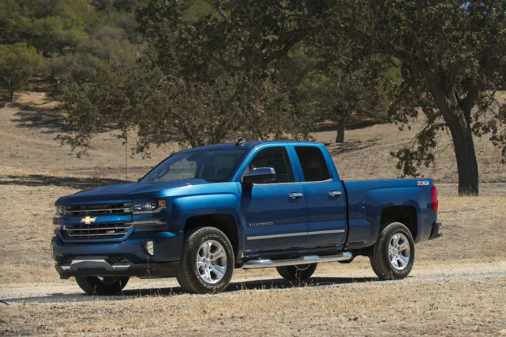 Blue 2016 Chevy Silverado 1500 is dependable and versatile