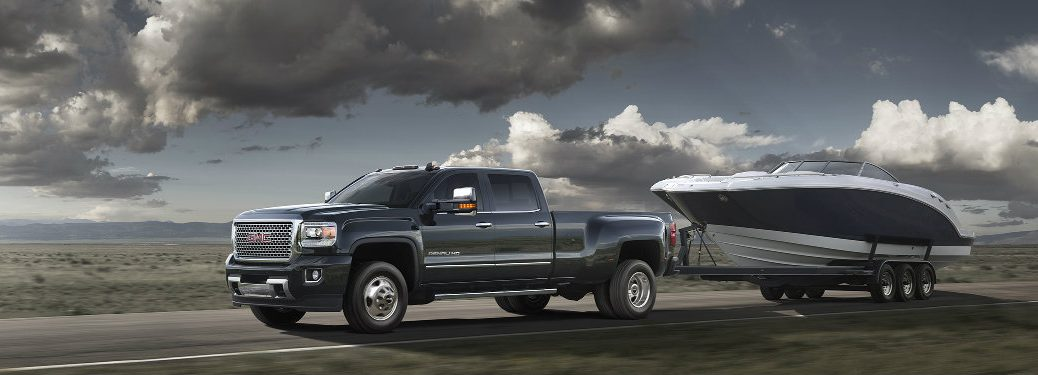 2016 GMC Sierra Towing Features