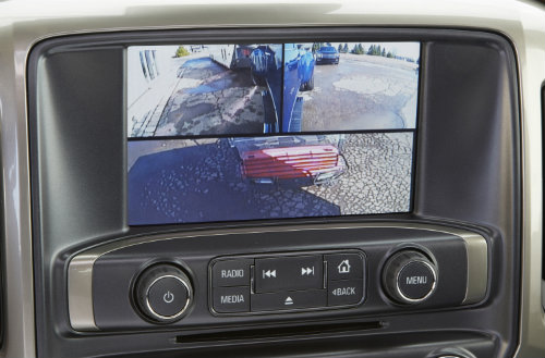 2016 GMC Sierra Trailering Backup Camera System