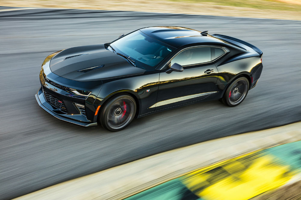 2017 Chevy Camaro 1LE on the track