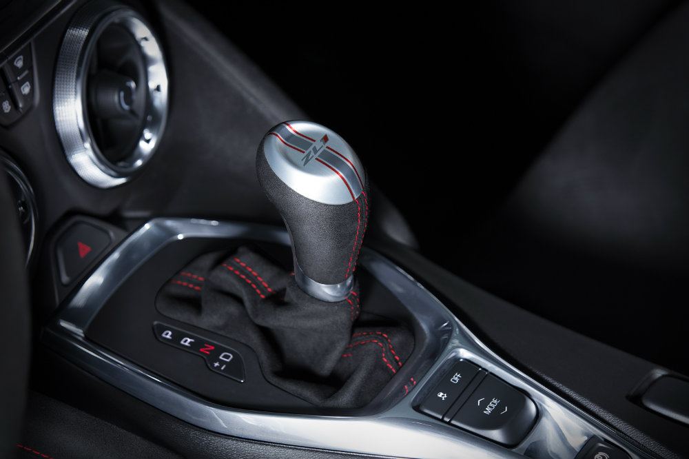 shifter for the 2017 Chevy Camaro ZL1