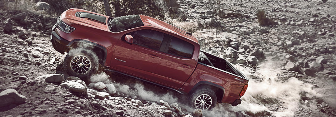 Learn More About the Unstoppable Chevy Colorado ZR2