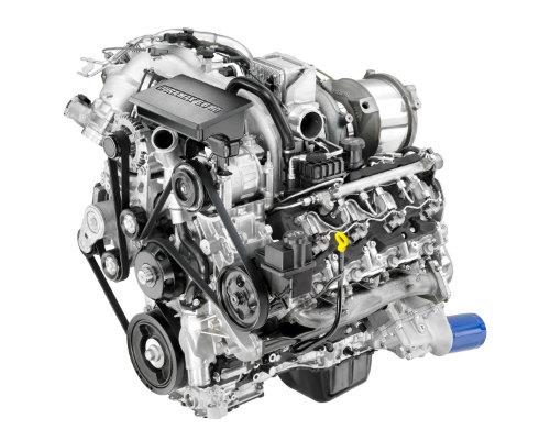 2017 Chevy Silverado HD Duramax Diesel V8 Turbo