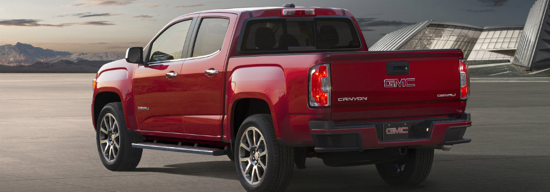 What's New on the 2017 GMC Canyon?