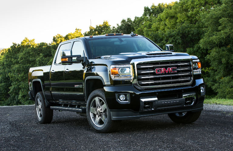 2017 GMC Sierra Duramax Diesel in black