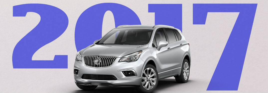 Trim Levels and Release Date for the 2017 Buick Envision