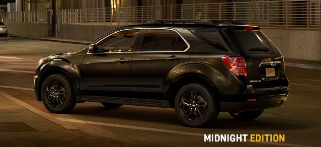 2017 Chevy Equinox Midnight Edition profile