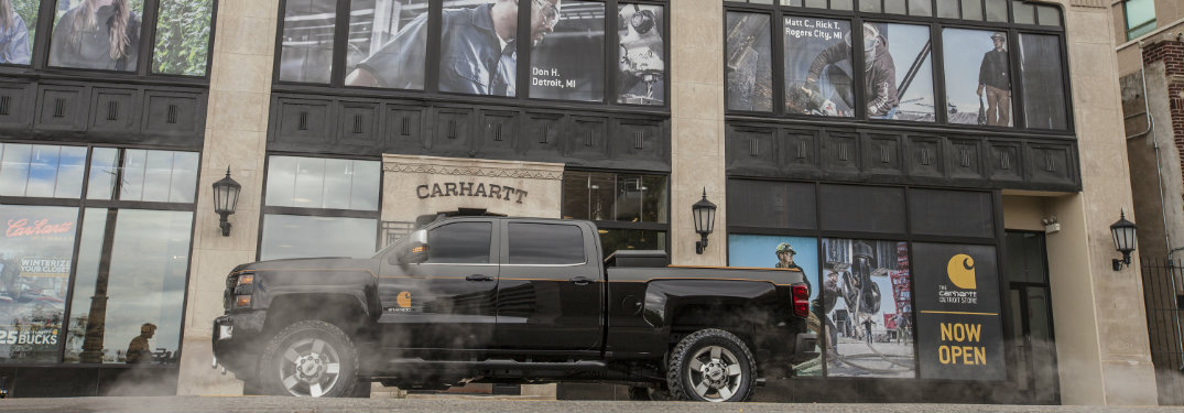Check out the 2017 Chevy Silverado HD Carhartt Concept!