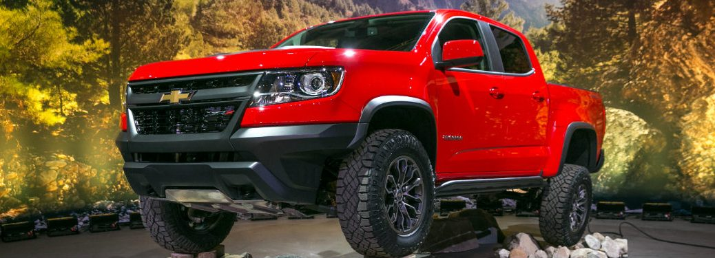 2017 Chevy Colorado ZR2 Photo Gallery