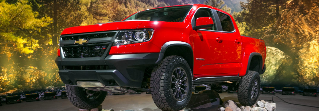 Photo Gallery for the New Colorado ZR2 Off-Roader