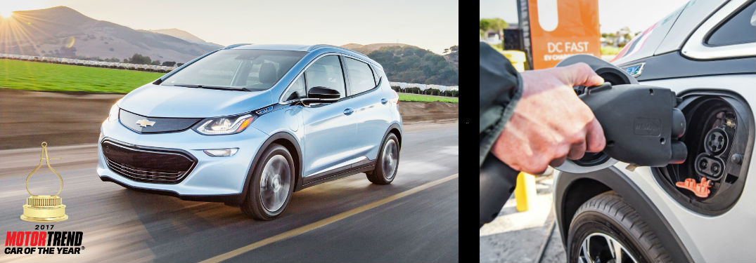 Chevy Bolt Wins Car of the Year Award
