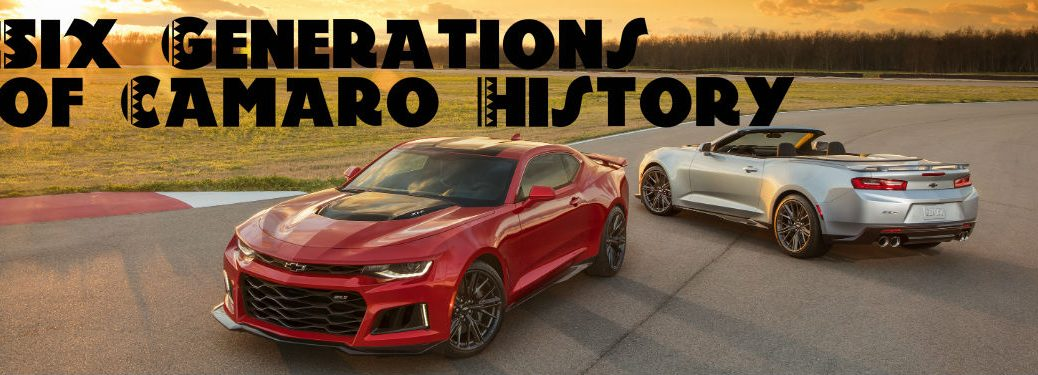 Chevy Camaro Celebrates 50 Years