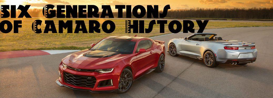 Chevy Camaro Celebrates 50 Years