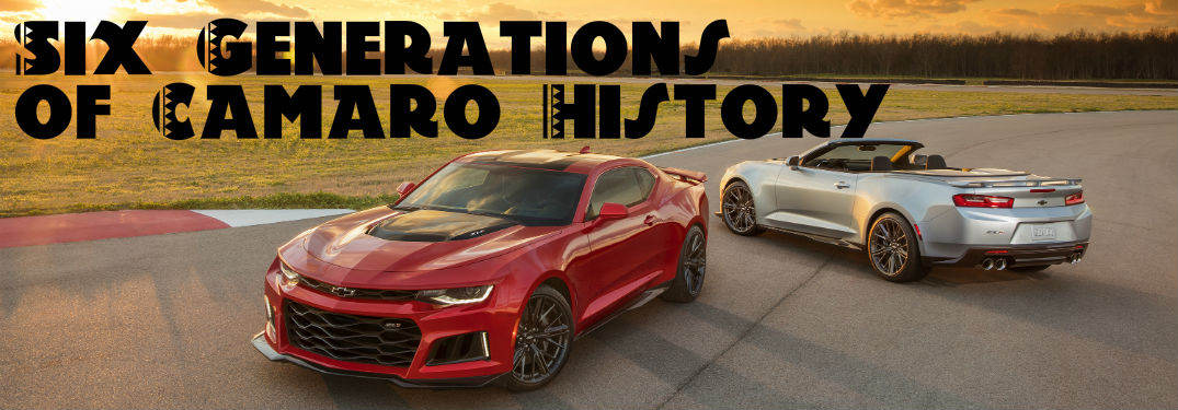 Flashback Friday: Chevy Camaro Celebrates 50 Years