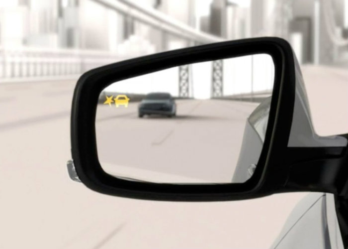 blind spot warnings make passing safer on the highway