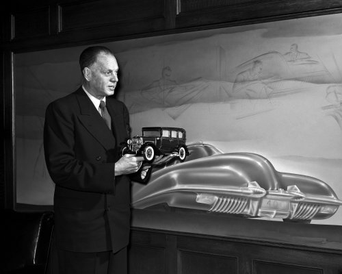 Harley Earl, first director of design at GM