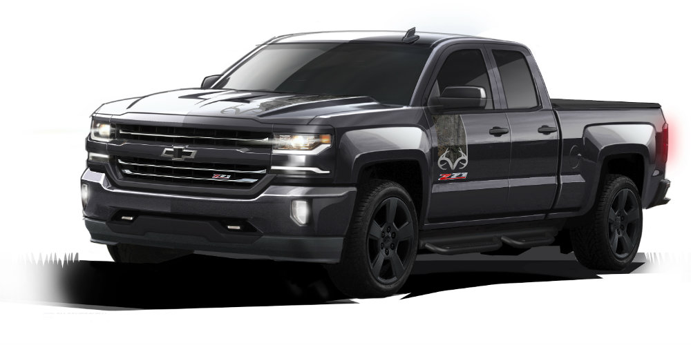 Sketch of the 2016 Chevy Silverado Realtree edition
