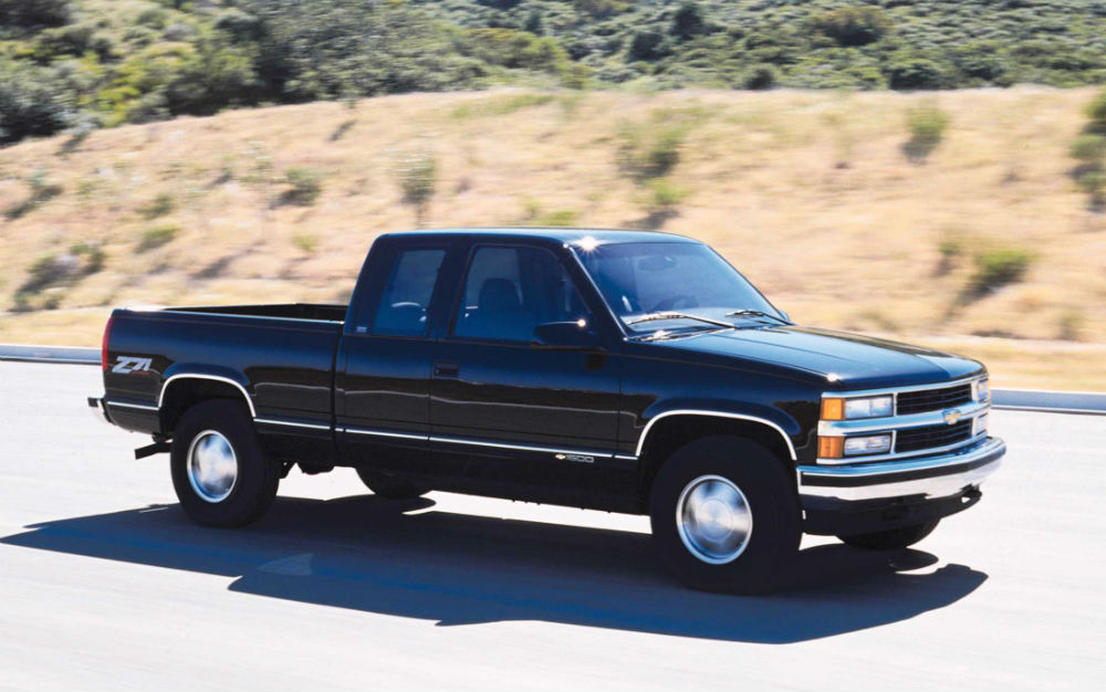 One of the first true Chevy Silverados from 1999