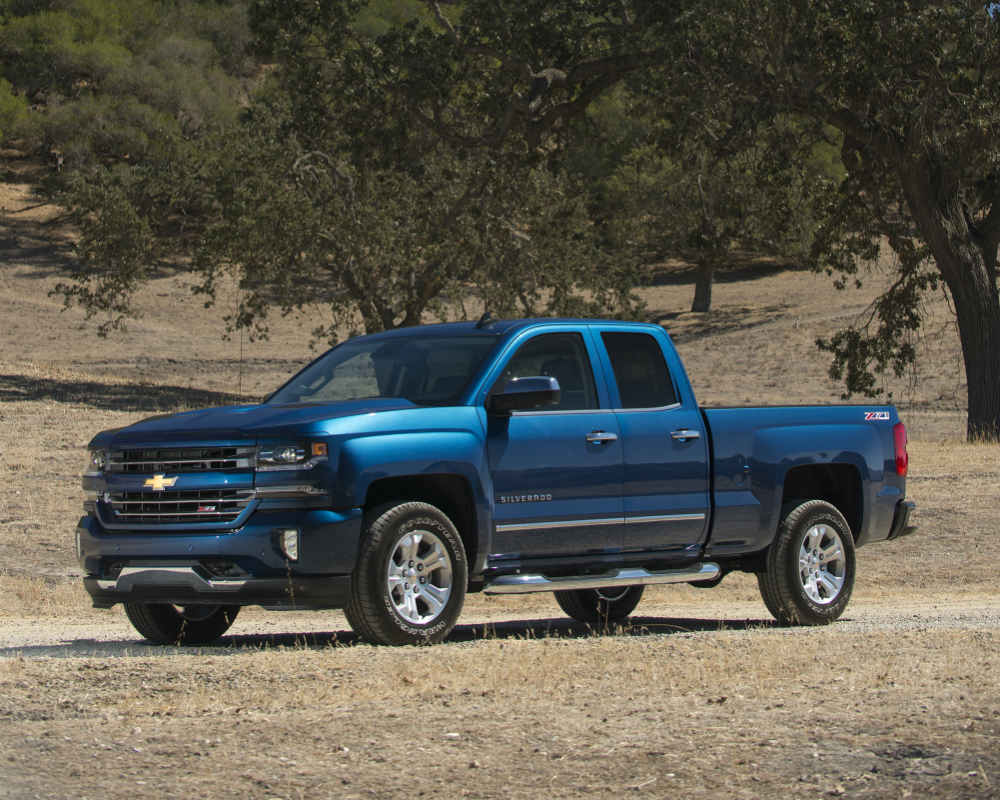 modern blue 2016 Chevy Silverado latest installment in the history of the Chevrolet Silverado