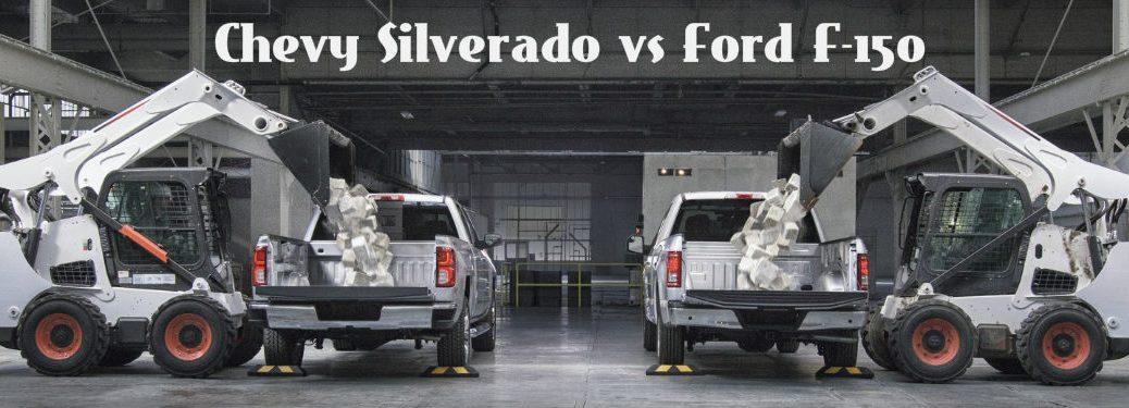 2016 Chevy Silverado vs 2016 Ford F-150 Truck Bed Comparison
