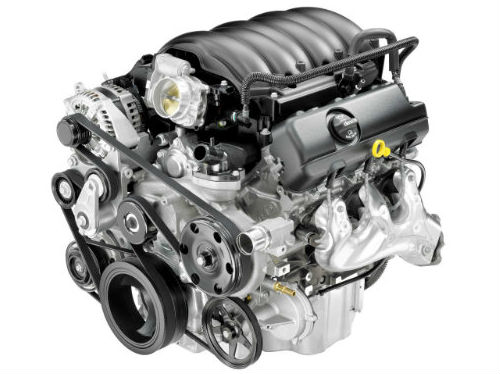a GM engine with Stop/Start technology