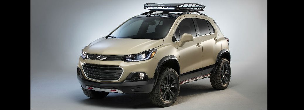 Chevy Trax Activ Concept at SEMA 2016