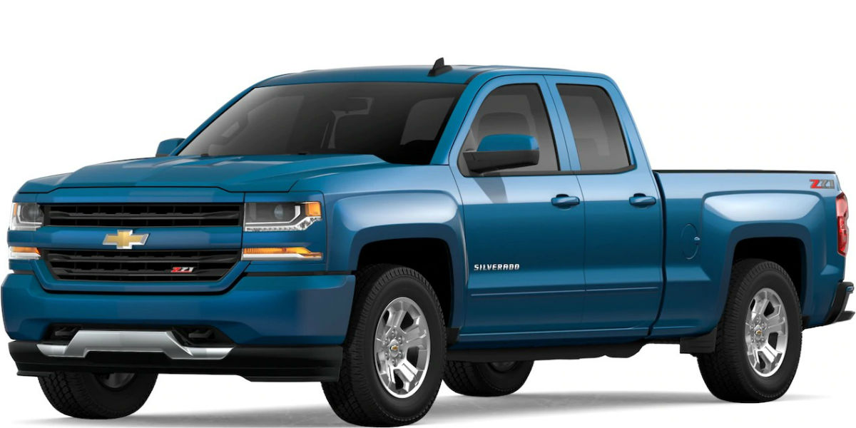 2019 Chevy Silverado in Deep Ocean Blue