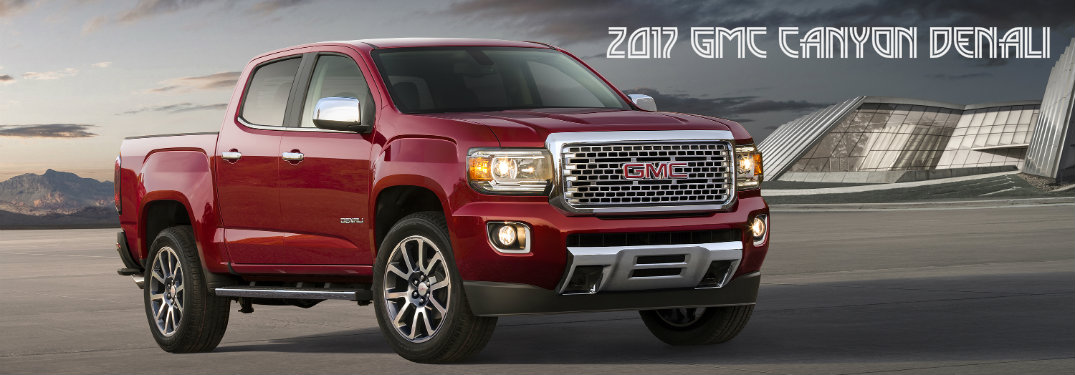 2017 GMC Canyon Denali World Debut