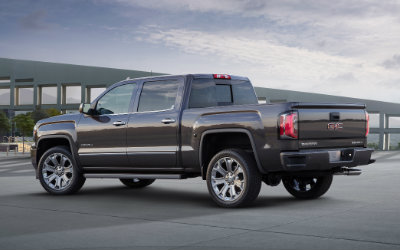 2016 GMC Sierra Denali Ultimate from an angle