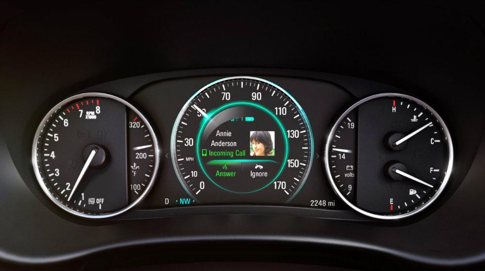 2016 Buick Envision dash gauge cluster