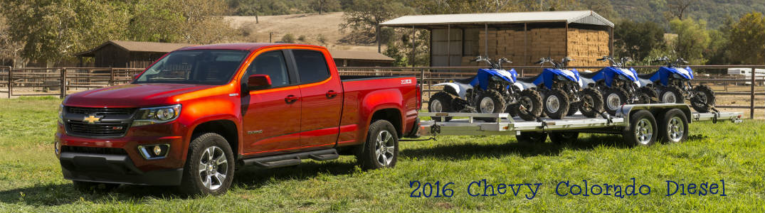fuel efficient 2016 Chevy Colorado diesel