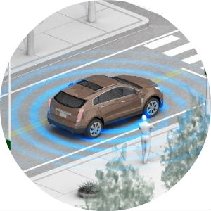 safety sensing technology in GM vehicles is the first step toward the autonomous car