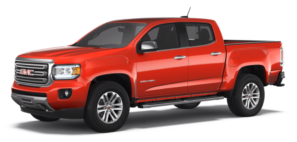 2018 GMC Canyon Cardinal Red