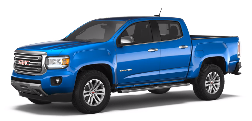 2018 GMC Canyon Marine Blue Metallic