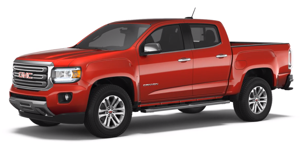 2018 GMC Canyon Red Quartz Tintcoat