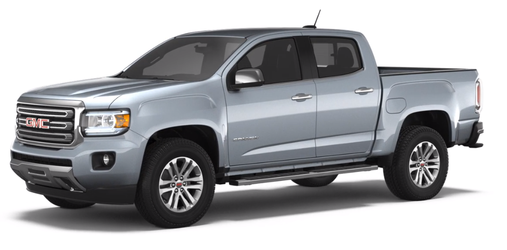 2018 GMC Canyon Satin Steel Metallic