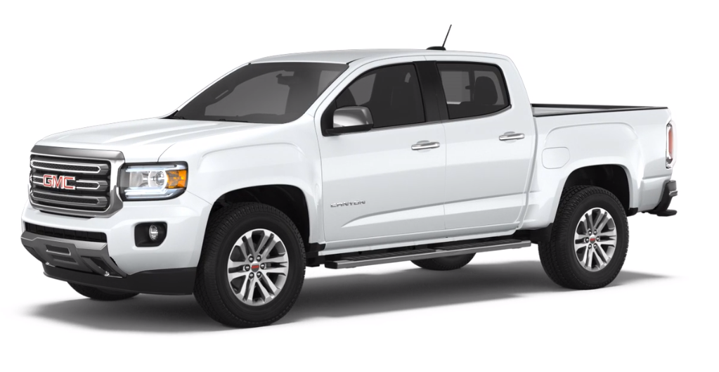 2018 GMC Canyon Summit White