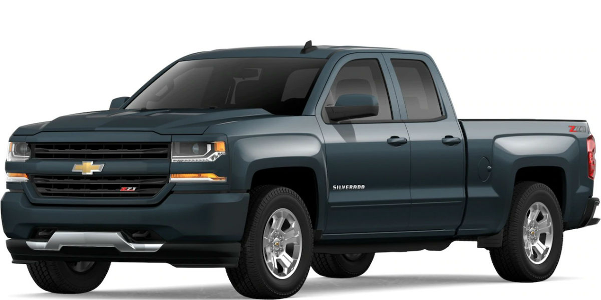 2019 Chevy Silverado in Graphite Metallic