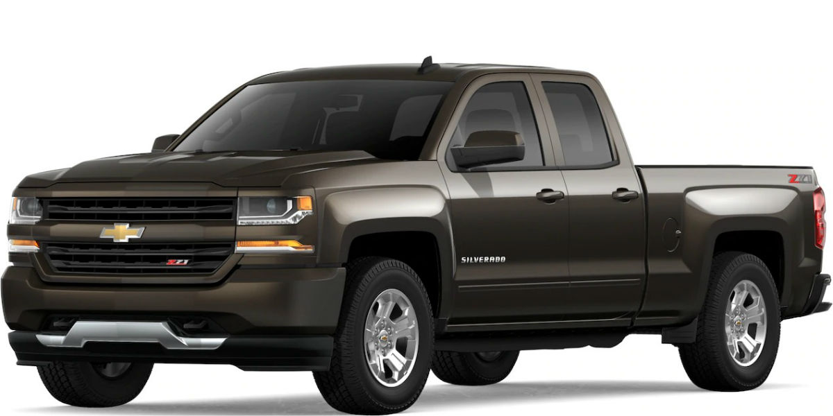 2019 Chevy Silverado in Havana Metallic