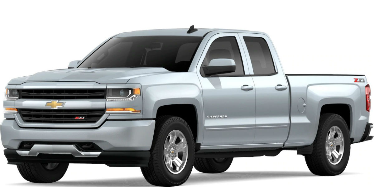 2019 Chevy Silverado in Silver Ice Metallic