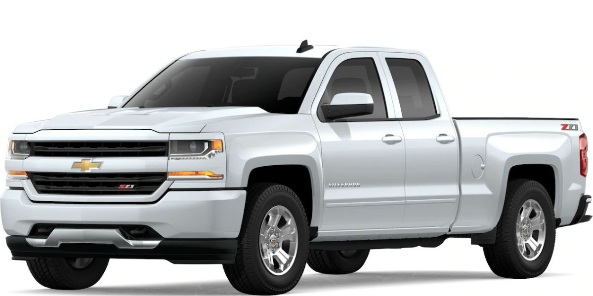 2019 Chevy Silverado in Summit White