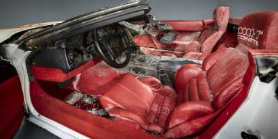 Damaged seats one millionth Corvette