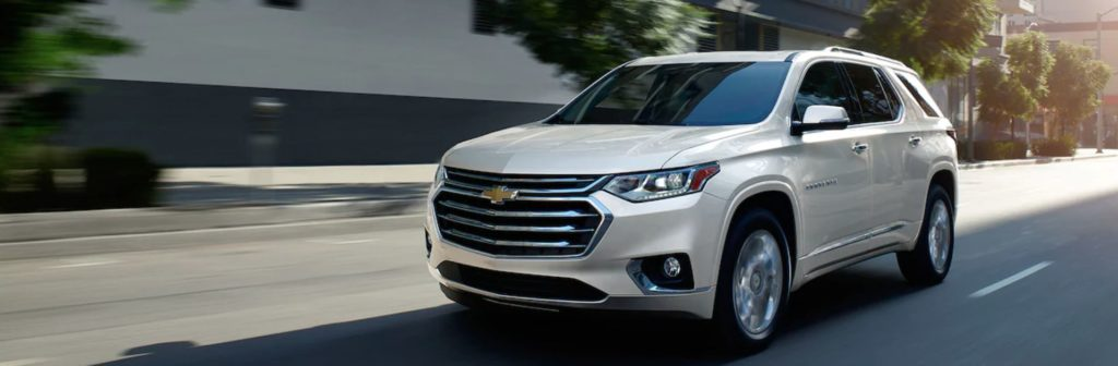 2020 Chevrolet Traverse near Winnipeg