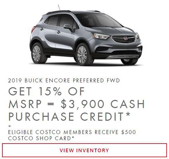 2019 Buick Encore near Winnipeg MB