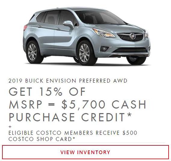 2019 Buick Envision near Winnipeg, MB