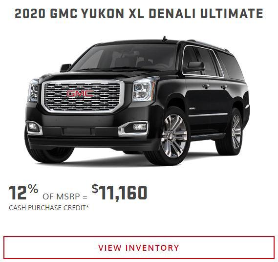 2020 GMC Yukon near Winnipeg, MB
