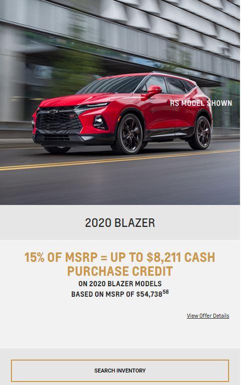 2020 Blazer Winnipeg, MB