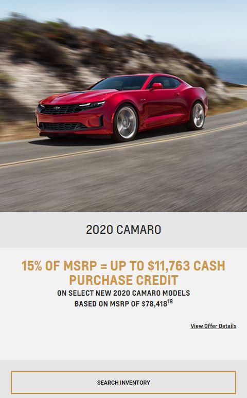 2020 Camaro Winnipeg, MB
