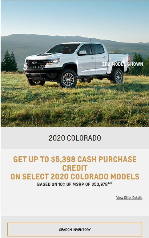 2020 Colorado Winnipeg, MB